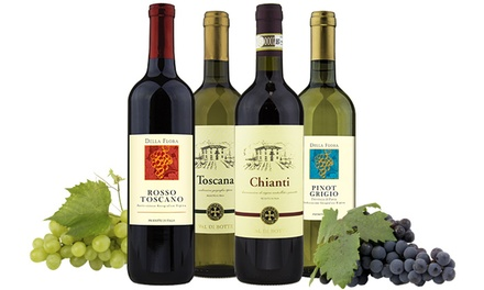 $30 for a Taste of Italy Package with Four Bottles of Award-Winning Italian Wines from Heartwood & Oak ($103 Value)