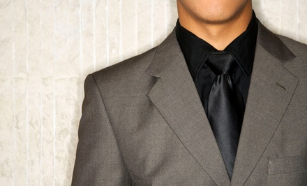 $299 for One Custom-Fit Italian Suit at Peter Cassara Clothiers (Up to $795 Value)