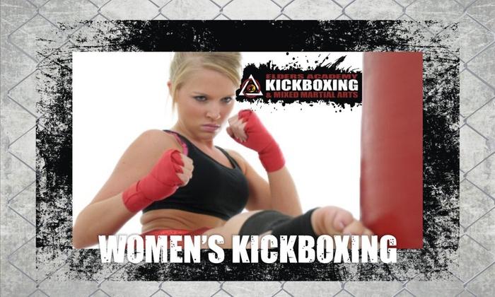 Elders Martial Arts - Largo: Up to 74% Off Women's Kickboxing at Elders Martial Arts