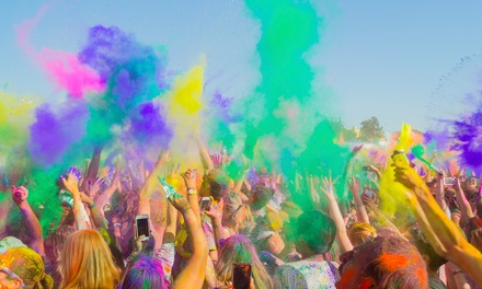 $27 for Holi Festival of Colors for Two with Ten Bags of Colors on March 30 and 31 ($38 Value)