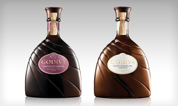 Godiva Chocolate Liqueur: $64 for Two Bottles of Godiva Chocolate Liqueur with Shipping Included from ReserveBar.com ($108 Total Value)