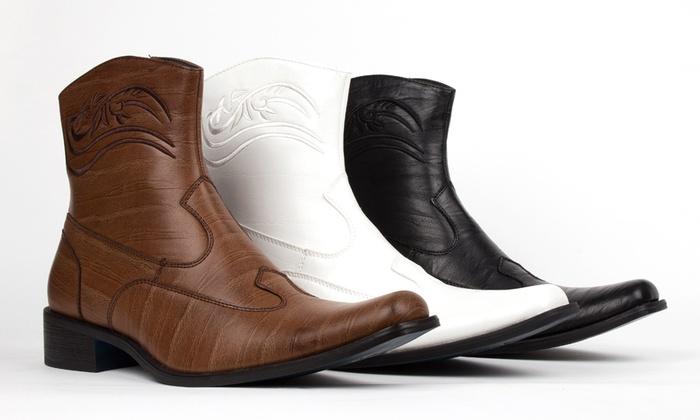 Bonafini Men's Classic Dress Boots
