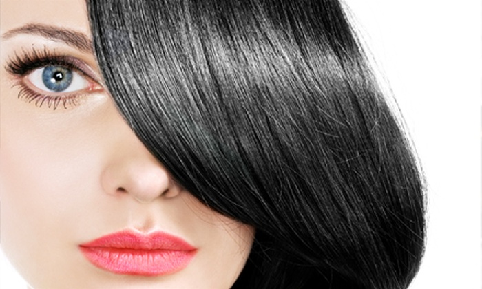 Attitude Hair Design Salon - Elk Grove: Cut, Style, and Conditioning Treatment with Optional Partial Highlights at Attitude Hair Design Salon (Up to 63% Off)
