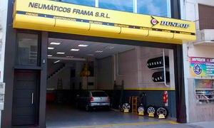 Neumáticos Frama: $229 en vez de $700 por alineación y balanceo de auto o camioneta y revisión general en Neumáticos Frama