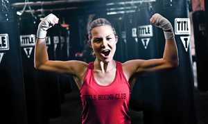 Title Boxing Club: $19 for 2 Weeks of Boxing and Kickboxing Classes, Including Hand Wraps at Title Boxing Club ($55 Value)