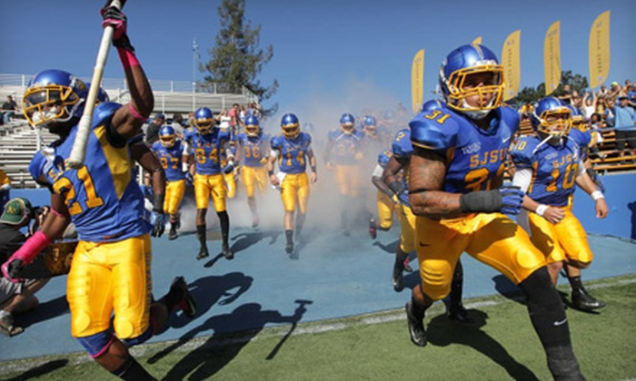San Jose State Spartans Football - Spartan Stadium: $15 for a San Jose State Homecoming Football Game at Spartan Stadium on Saturday, October 26, at 4 p.m. ($41.90 Value)