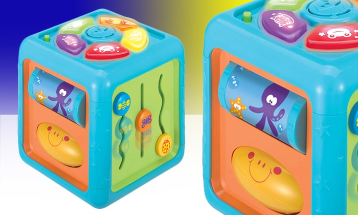 Brilliant Beginnings Sights and Sounds Activity Cube: Brilliant Beginnings Sights and Sounds Activity Cube. Free Returns.