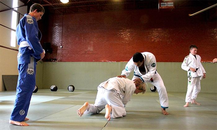 Eastside Austin Elite - Austin: Four or Eight Weeks of Kids' MMA and Jiu-Jitsu Classes at Eastside Austin Elite (Up to 82% Off)