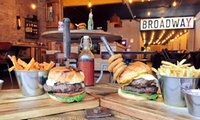 Burger of Choice with Slaw, Side and Drink for Up to Four at NYD – New York Diner (Up to 34% Off)