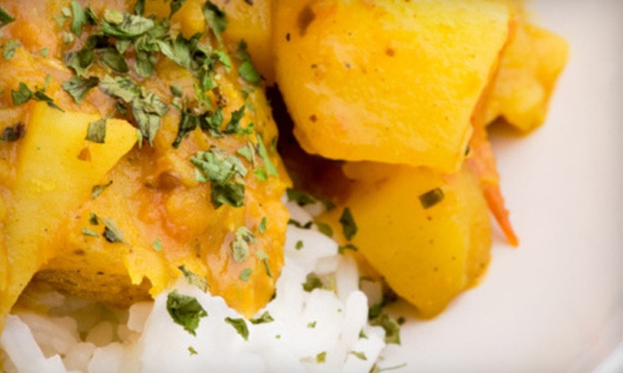 Currylicious - Rockridge: Indian Fare at Currylicious in Oakland. (Up to 53% Off). Two Options Available.