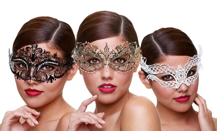Baci Filigree Masquerade Masks