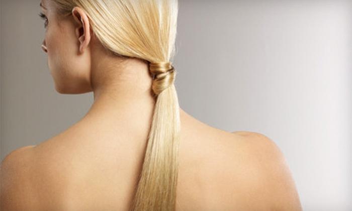 The Creative Edge Hair Salon - Clinton: $99 for a La-Brasiliana Keratin Treatment at The Creative Edge Hair Salon ($300 Value)