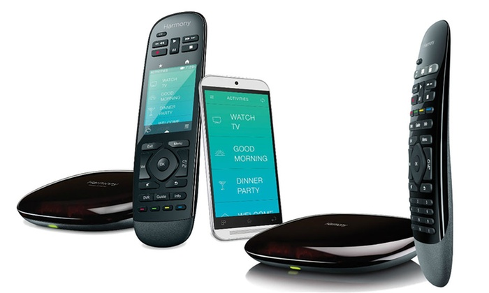 Logitech Harmony Smart Universal Remotes (Refurbished)
