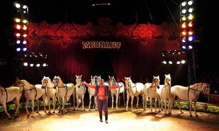 CIRCO MEDRANO - Più sedi: Circo Medrano - Fino a 3 biglietti per il circo storico d'Italia da 12,50 €