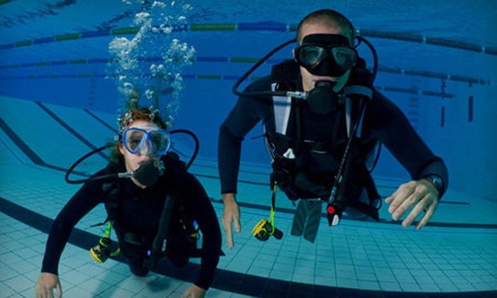 Deep Blue Scuba - Casita Vista: Open Water Diving Certification Course for One or Two at Deep Blue Scuba (Up to 52% Off)