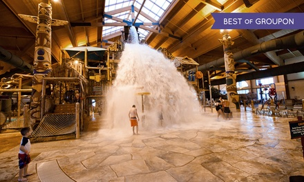 Stay with Daily Water Park Passes and Breakfast at Great Wolf Lodge Traverse City in Michigan. Dates into April.
