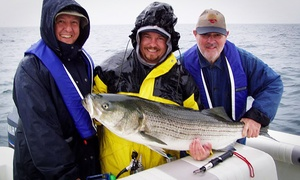 Rocky Point Fishing Charters: Half-Day Fishing Charter or Two-Hour Sunset Cruise for Four at Rocky Point Fishing Charters (Up to 27% Off)