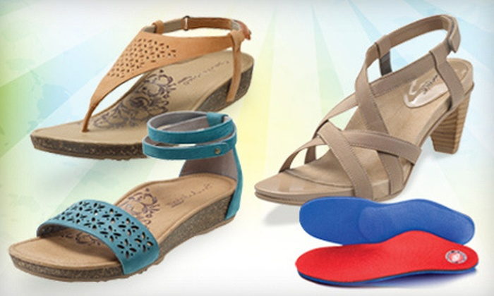 Aetrex - Englewood: $29.99 for $60 Worth of Lynco Orthotics and Footwear at Aetrex Englewood Store