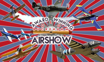 image for Old Buckenham Airshow, 28 July, Old Buckenham Airfield (Up to 29% Off)