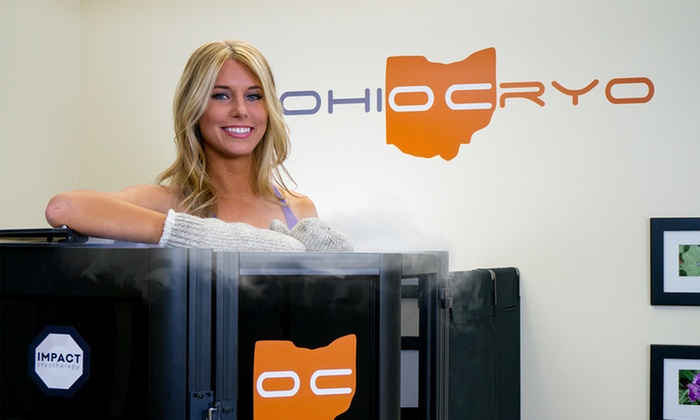Ohio Cryo - Multiple Locations: Three or Six Cryotherapy Sessions at Ohio Cryo (Up to 53% Off)