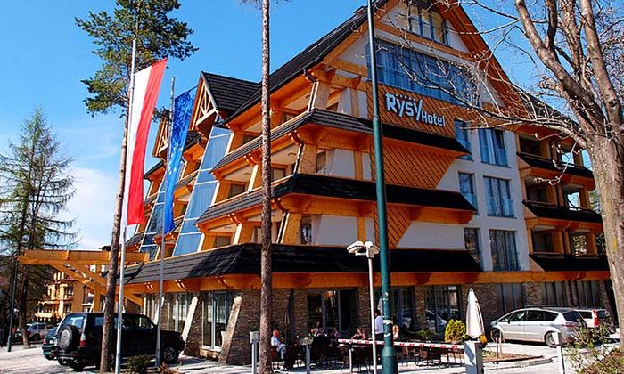 Hotel Rysy - Hotel Rysy: Zakopane: 2-8 dni dla 2 osób z wyżywieniem, strefą Spa i więcej w cenie od 375 zł w Hotelu Rysy 5*