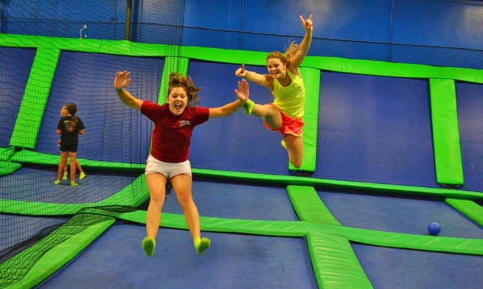AirHeads Trampoline Arena - Orlando: Unlimited Trampoline Jumping for Two or Four at AirHeads Trampoline Arena in Orlando (Up to 41%  Off)