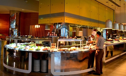 Brunch With Soft Drinks (from AED 85) or Hops and Grape Beverages (from AED 125) at Dine, Aloft Hotel (Up to 56% Off)