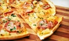 $12 for Pizza and Wings at Pizza Baron