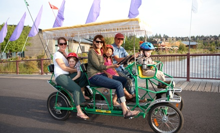 Bike and Outdoor-Gear Rentals or Self-Guided, Bike Tour for Two from Wheel Fun Rentals (Half Off)
