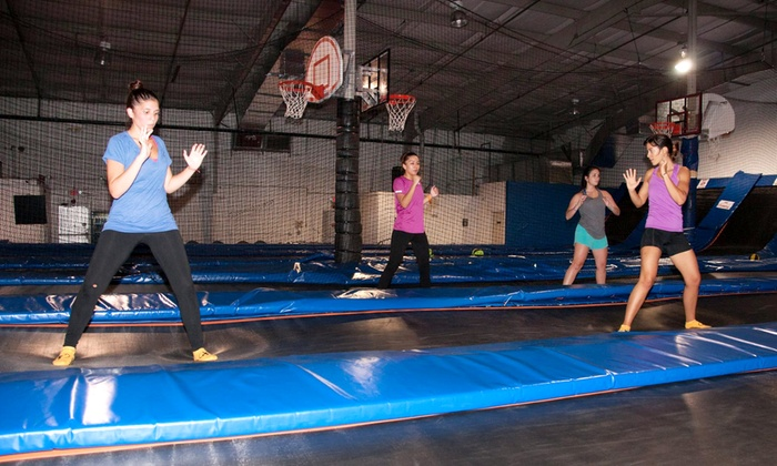 Trampoline High - South Kendall: Trampoline Jump Sessions at Trampoline High (Up to 67% Off)