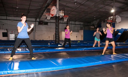 Four or Eight Trampoline Boot-Camp Classes at Trampoline High (Up to 69% Off)