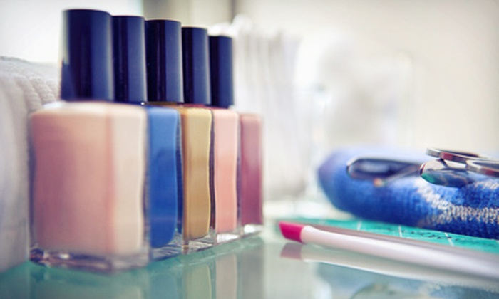 Julia Grace Salon - Madison: $46.20 for a Spa Manicure and Pedicure at Julia Grace Salon ($85 Value)