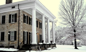 Summit County Historical Society: Mansion Holiday Tour for Two or Four, or Membership from Summit County Historical Society (Up to 45% Off)