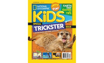Up to 74% Off National Geographic Kids Magazine Subscription