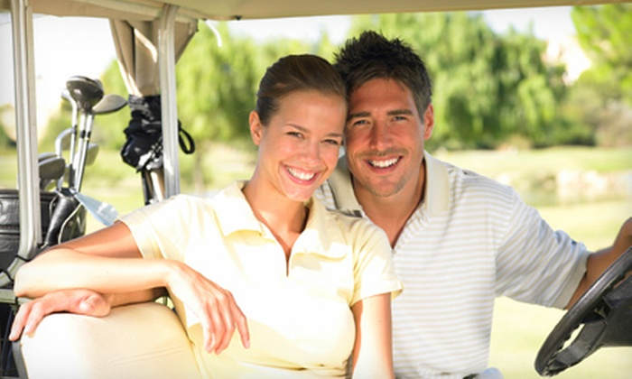 Sask Landing Golf Resort - Stewart Valley: 9- or 18-Hole Round of Golf for Two or Four Including Cart at Sask Landing Golf Resort (Up to 50% Off)