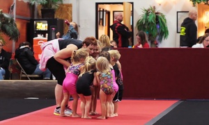 Leading Edge Gymnastics: One Month of Preschool or Gym-N-Learn Classes for Ages 3–5 at Leading Edge Gymnastics (Up to 48% Off)