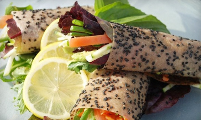 118 Degrees - Costa Mesa: $25 for $50 Worth of Organic Brunch and Drinks for Two at 118 Degrees in Costa Mesa