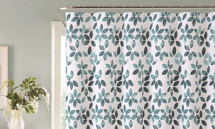 72x72 Veria 100 Cotton Shower Curtain