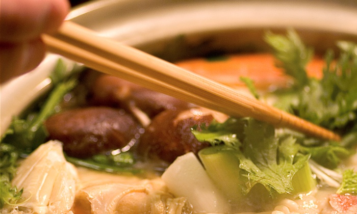 The Hot Pot - Davie: Seafood and Asian-Fusion Cuisine at The Hot Pot (Half Off). Two Options Available.