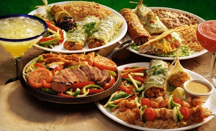 Mexican Food at El Rodeo Mexican Restaurant (Half Off). Two Options Available.