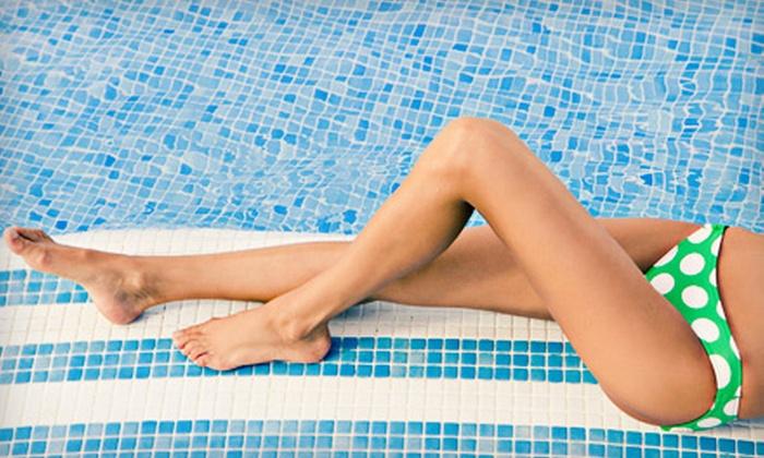 Utopia Massage & Spa - Dundee-Memorial Park: One or Two Brazilian Waxes, Bikini Waxes, or Half-Leg Waxes at Utopia Massage & Spa (Up to 59% Off)