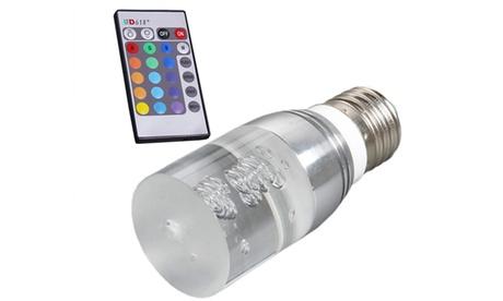 Bombilla led multicolor con mando a distancia