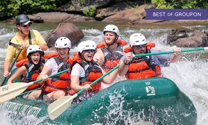 Adventures Unlimited: Half-Day Ocoee River Adventure with Rental Gear from Adventures Unlimited (Up to 52% Off)