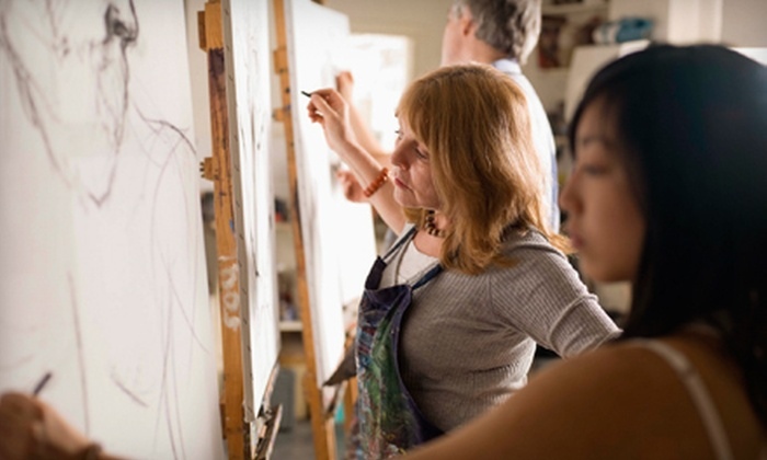 Artistic Gatherings - Dallas: Drawing Class for One, Two, or Four at Artistic Gatherings (Up to 58% Off)