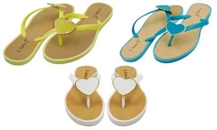 a0e53e6a0cc9 Sara Z Women s Flip Flops