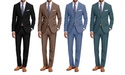 Braveman Men's 2-Piece Classic Fit Suit