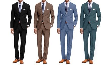 Braveman Men's Classic Fit Fashion Suits (2-Piece)