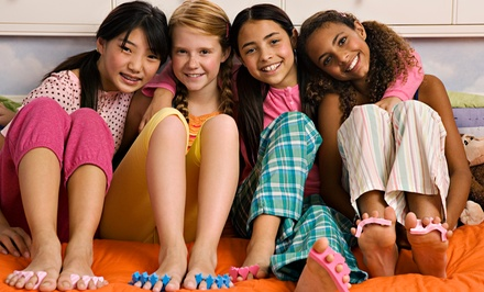 Mobile Spa Party for 6 or 10 Kids from Sassy She Parties (Up to 50% Off)
