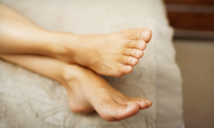 Spa Déjà Vu - North Vancouver: One or Three Luxury Pedicures with Reflexology and Natural Lavender Exfoliant at Spa Déjà Vu (Up to 69% Off)