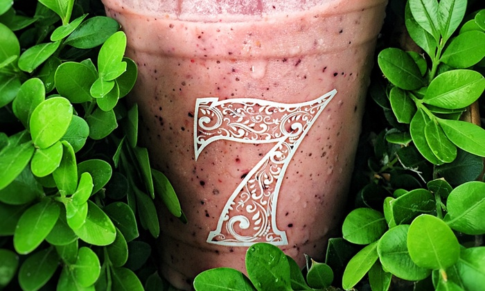 7 Fruity - Sacramento: $16 for $24 Worth of Smoothies and Drinks at 7Fruity